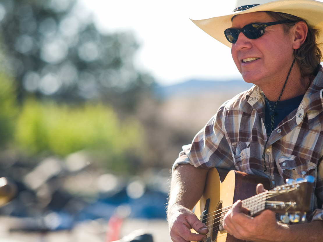 Oregon Man Playing Guitar