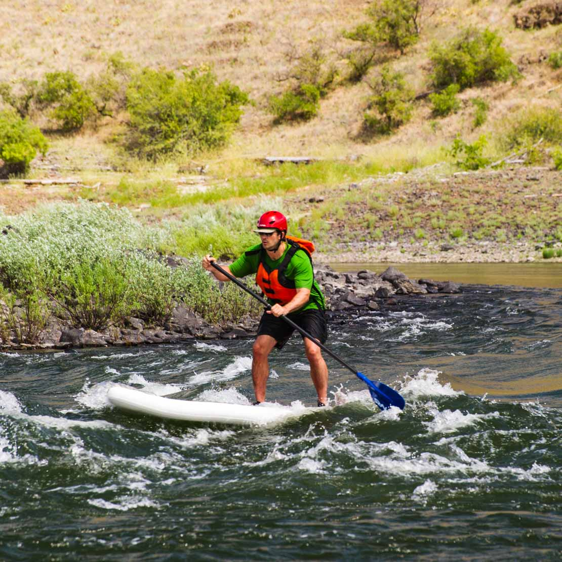 Stand Up Paddleboard Rapids