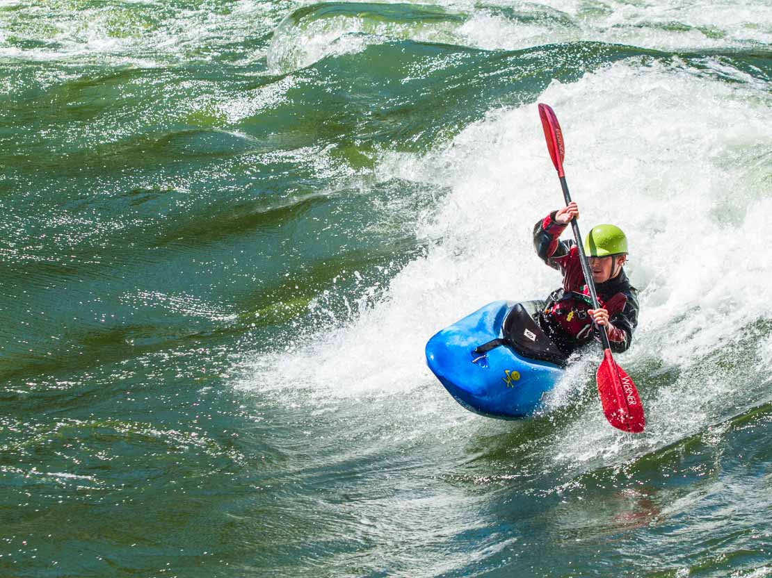 Whitewater Kayaking Wave