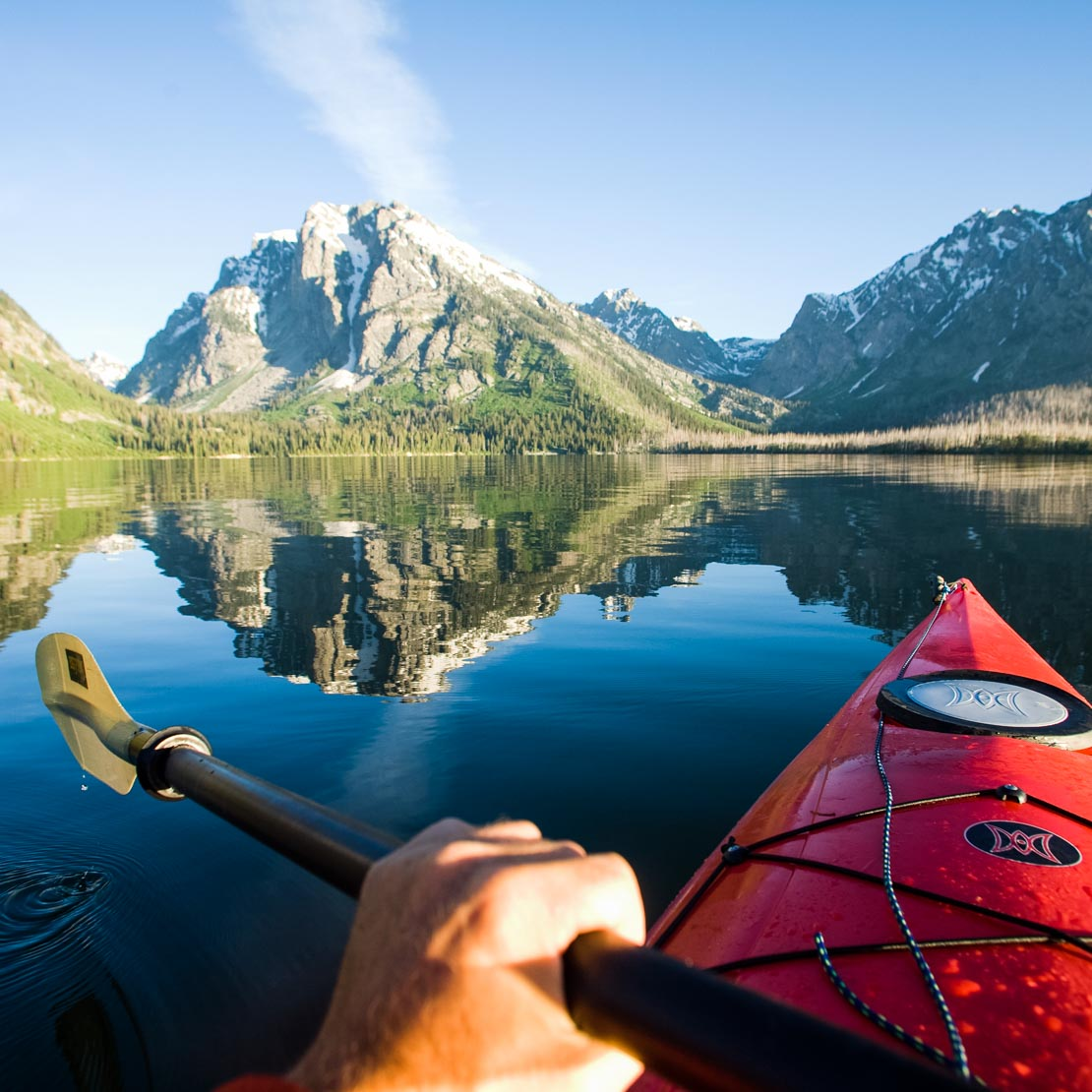 Wyoming Kayaking