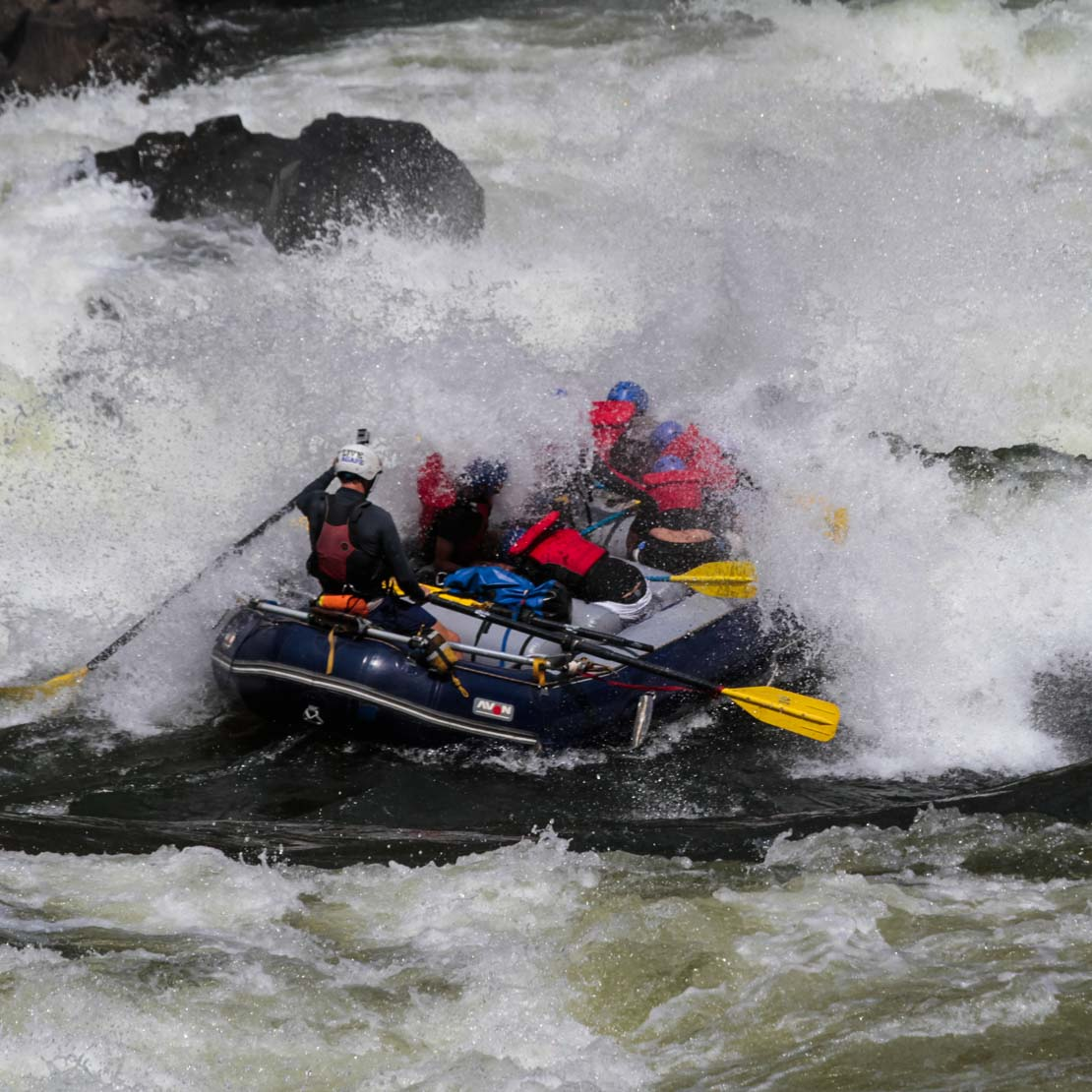 Zambia Whitewater Rafting