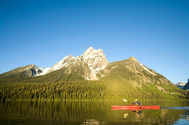 Grand Teton and Yellowstone National Parks by Kayak