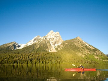 Jackson Lake Kayaking in Grand Teton National Park