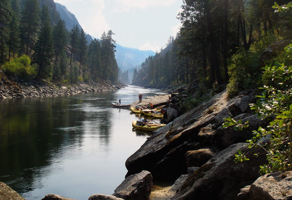 The Best Dam-Free Rivers in the West | Idaho's Salmon River | Photo: George Wendt