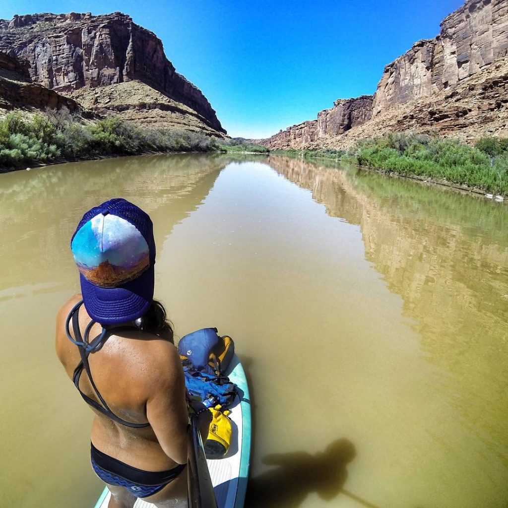 Paddleboarding on the Colorado River | Photo: Natali Zollinger