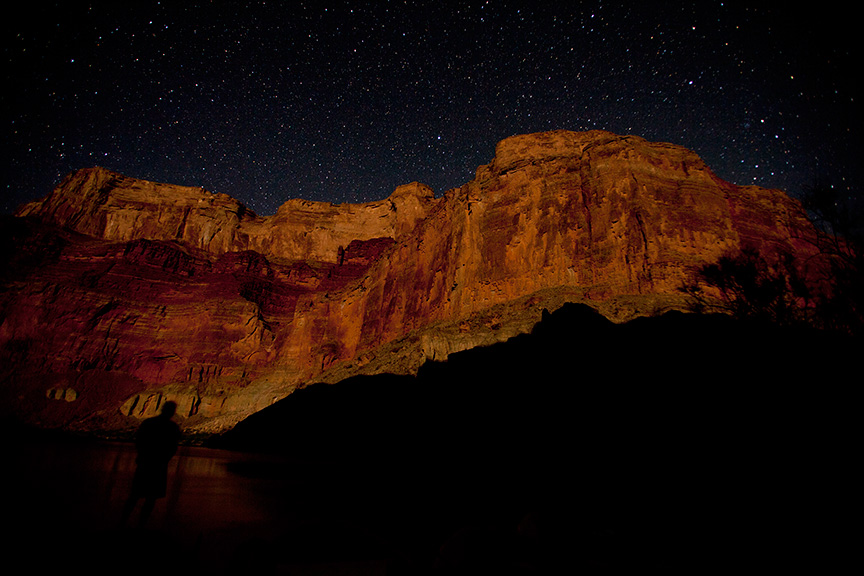 Grand Canyon stars | Photo: Justin Bailie