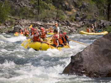 Your Guide to Idaho Rafting | Main Salmon River | Photo: Neil Rabinowitz