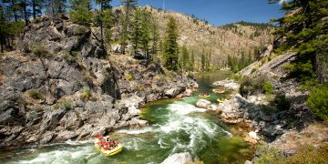 Middle Fork Salmon River rafting