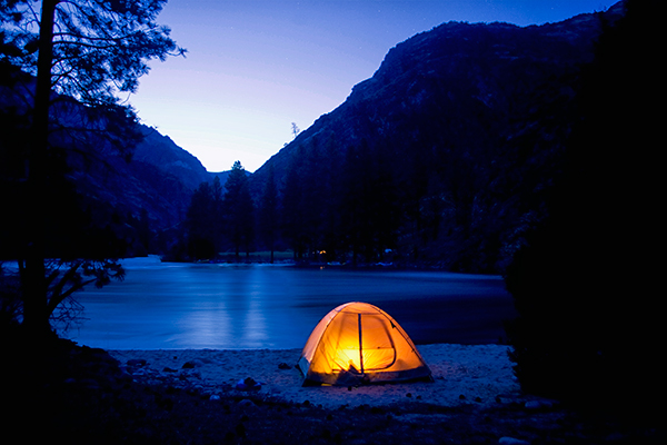 Middle Fork Salmon River camping