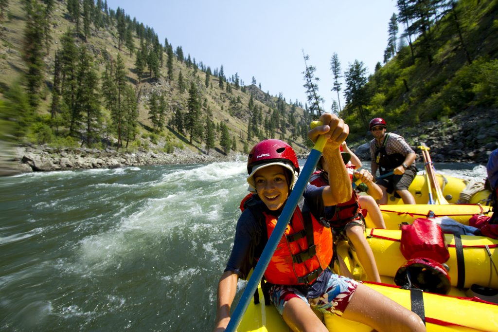 5 Things Your Kids Won't Do on a Family Rafting Trip