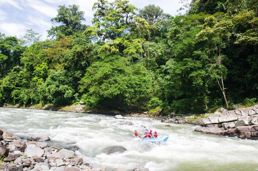 Top Adventures in Costa Rica - Rafting the Río Pacuare
