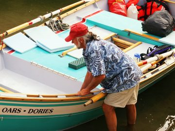 How to rig a dory for whitewater