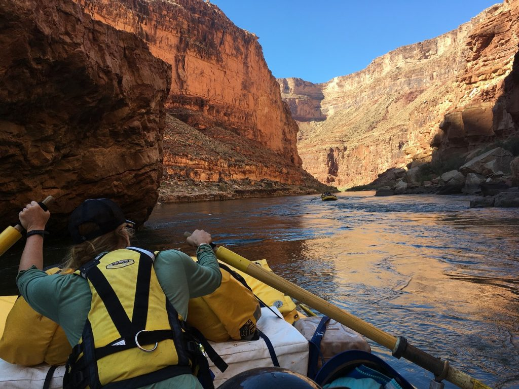 A second-year river guide shares how she calmed her nerves and rediscovered her confidence on a Grand Canyon trip.