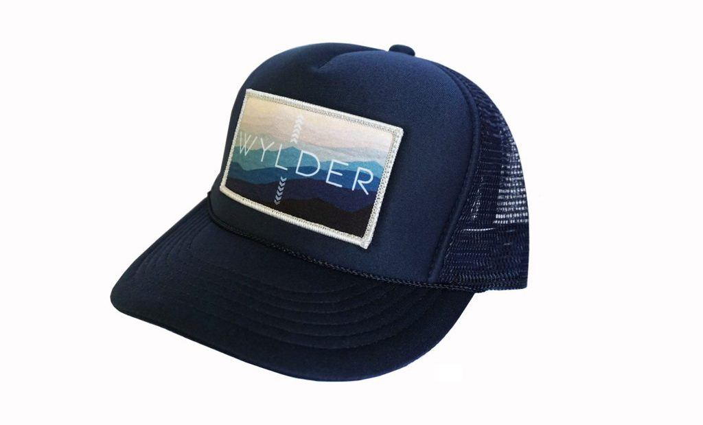 Gift Ideas for Outdoor Women | Wylder Patch Trucker Hat