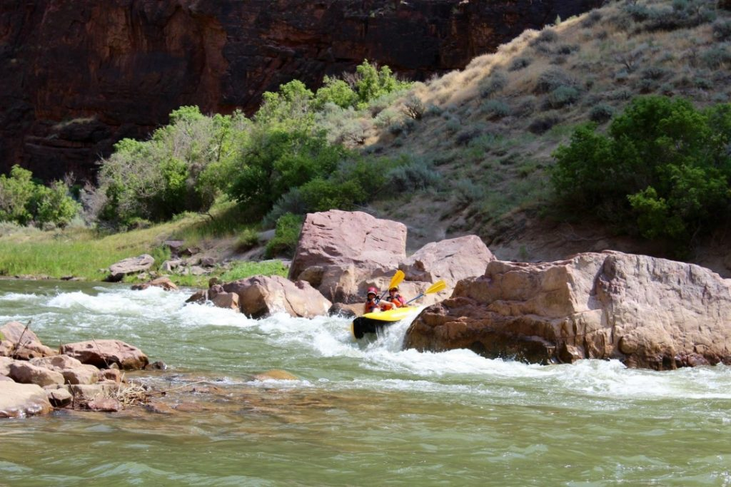 Two lifelong friends on a veterans rafting trip with O.A.R.S.